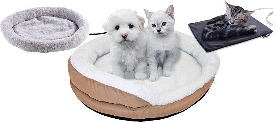 beheizten Katzenbetten