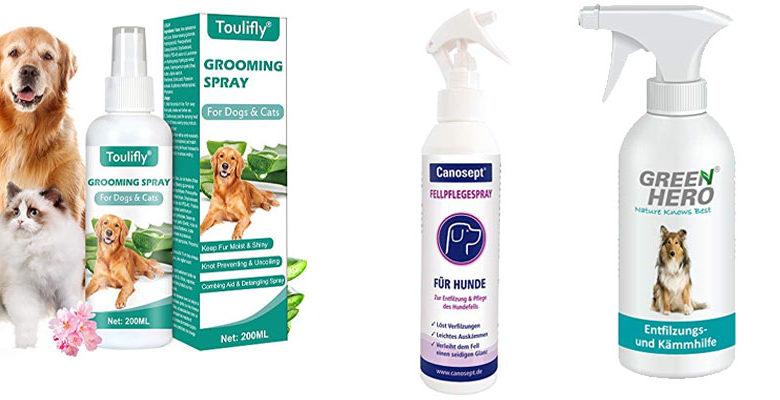 Entfilzungsspray für Hunde