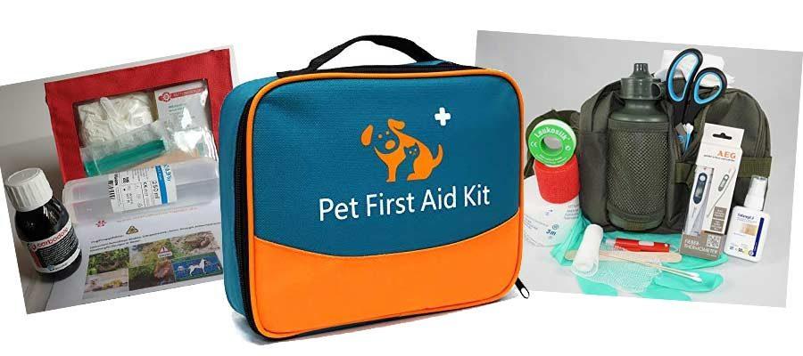 Erste-Hilfe-Sets für Hunde