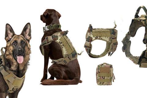 Taktisches Hundegeschirr / Militärgeschirr