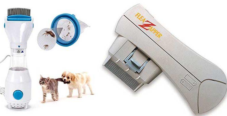 elektrischer Flohkamm für Hunde